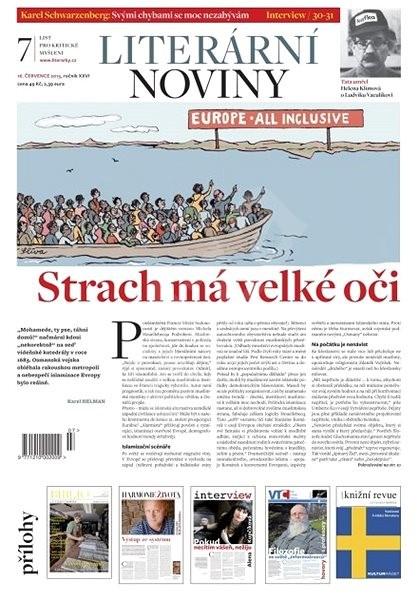 Literární noviny - 7/2015 - Elektronický časopis