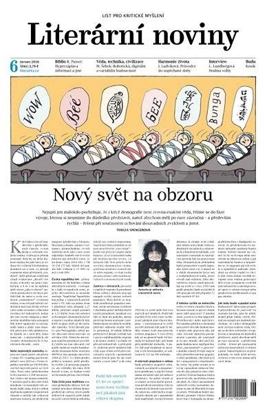 Literární noviny - 6/2016 - Elektronický časopis