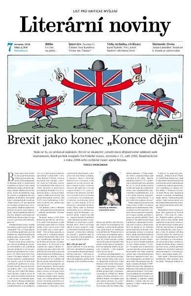 Literární noviny - 7/2016 - Elektronický časopis