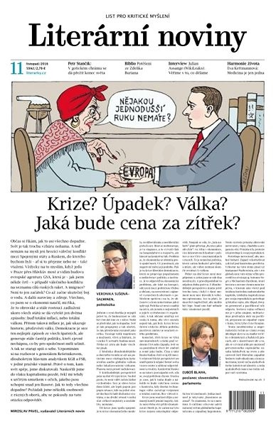 Literární noviny - 11/2016 - Elektronický časopis