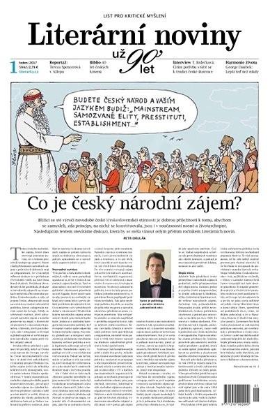 Literární noviny - 01/2017 - Elektronický časopis