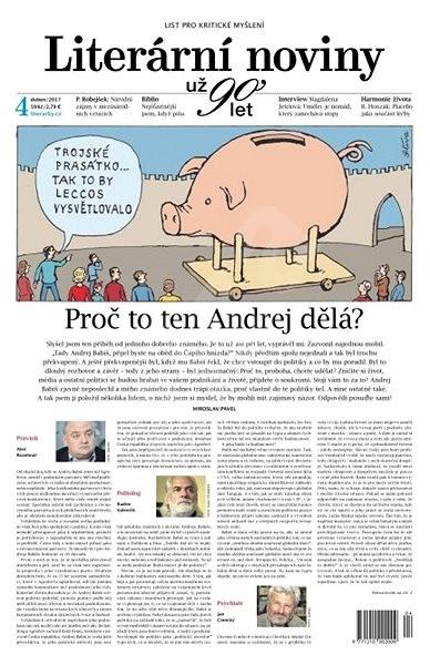 Literární noviny - 4/2017 - Elektronický časopis