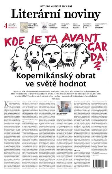 Literární noviny - 4/2018 - Elektronický časopis