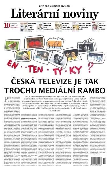 Literární noviny - 10/2018 - Elektronický časopis