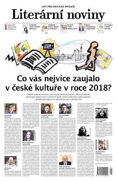 Literární noviny - 1/2019 - Elektronický časopis