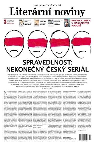 Literární noviny - 3/2019 - Elektronický časopis