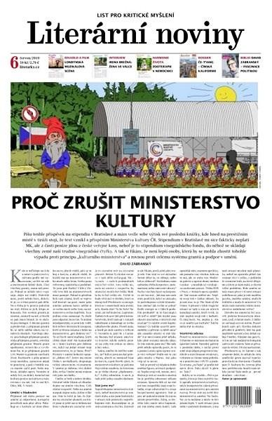 Literární noviny - 6/2019 - Elektronický časopis