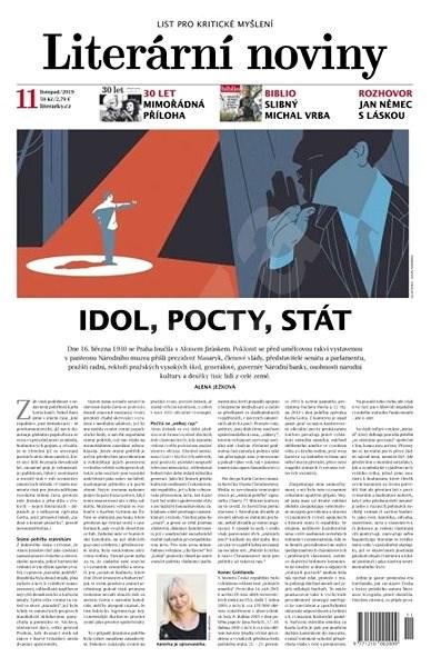 Literární noviny - 11/2019 - Elektronický časopis