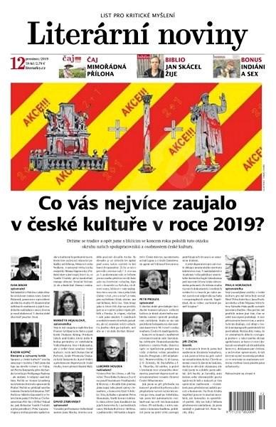Literární noviny - 12/2019 - Elektronický časopis