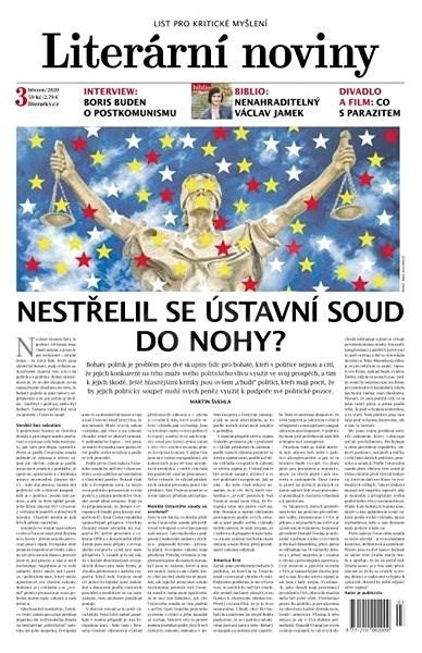 Literární noviny - 3/2020 - Elektronický časopis