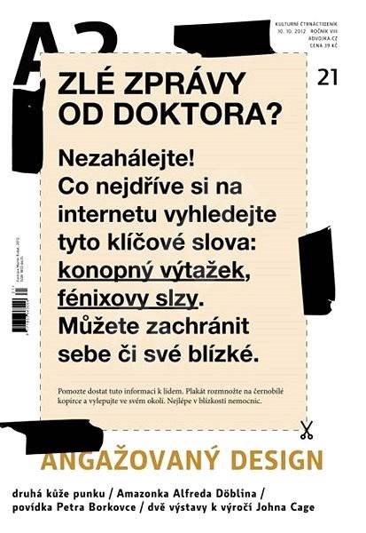 A2 kulturní čtrnáctideník - 21/2012 - Elektronický časopis
