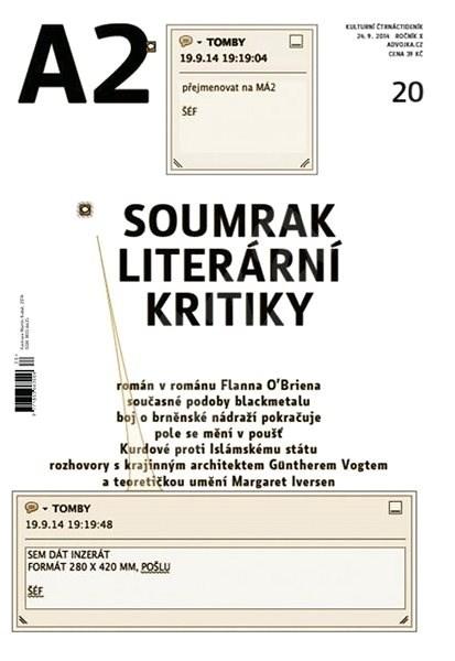 A2 kulturní čtrnáctideník - 20/2014 - Elektronický časopis