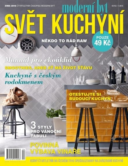 Svět kuchyní - Zima/2016 - Elektronický časopis