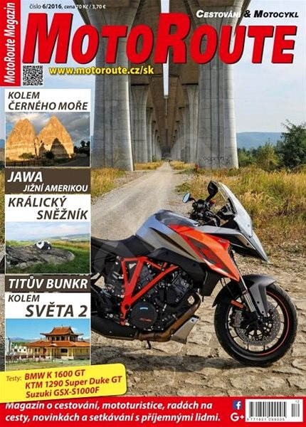 MotoRoute Magazin - 6/2016 - Elektronický časopis
