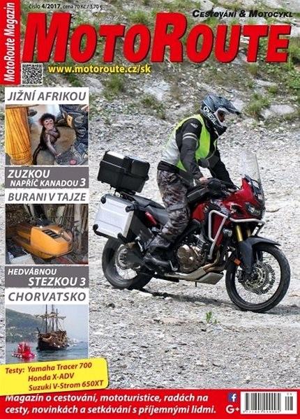 MotoRoute Magazin - 4/2017 - Elektronický časopis