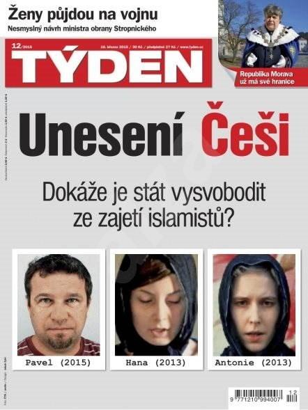 Týden - 12/2015 - Elektronický časopis