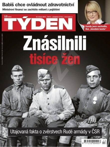 Týden - 13/2015 - Elektronický časopis