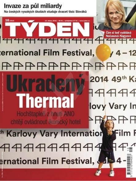 Týden - 16/2015 - Elektronický časopis