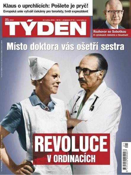 Týden - 21/2015 - Elektronický časopis