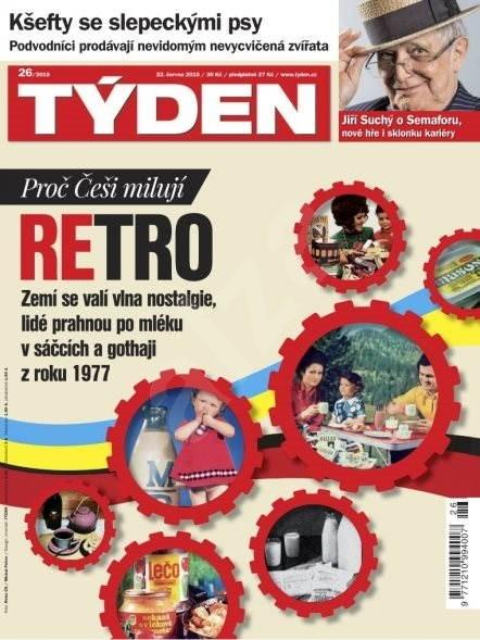 Týden - 26/2015 - Elektronický časopis