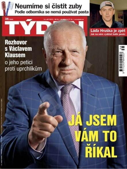 Týden - 38/2015 - Elektronický časopis