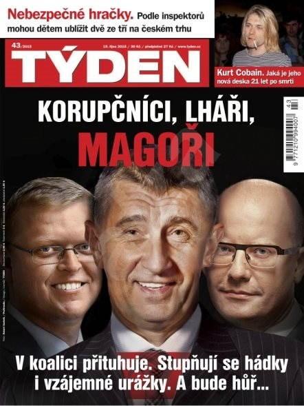 Týden - 43/2015 - Elektronický časopis