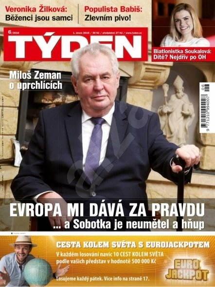 Týden - 6/2016 - Elektronický časopis