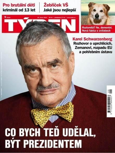 Týden - 9/2016 - Elektronický časopis