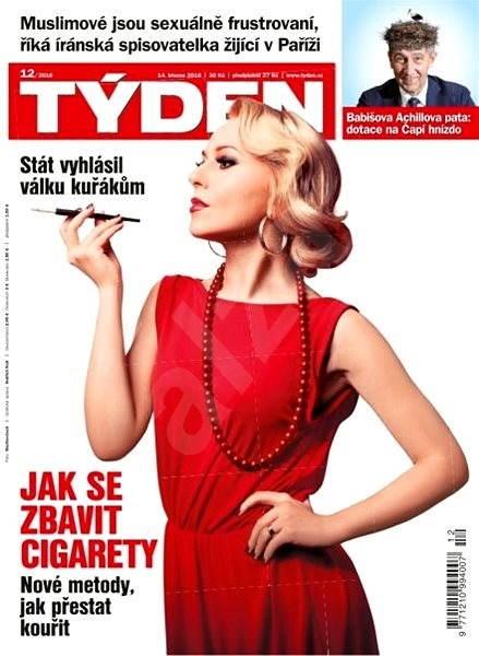 Týden - 12/2016 - Elektronický časopis
