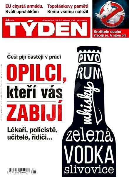 Týden - 21/2016 - Elektronický časopis
