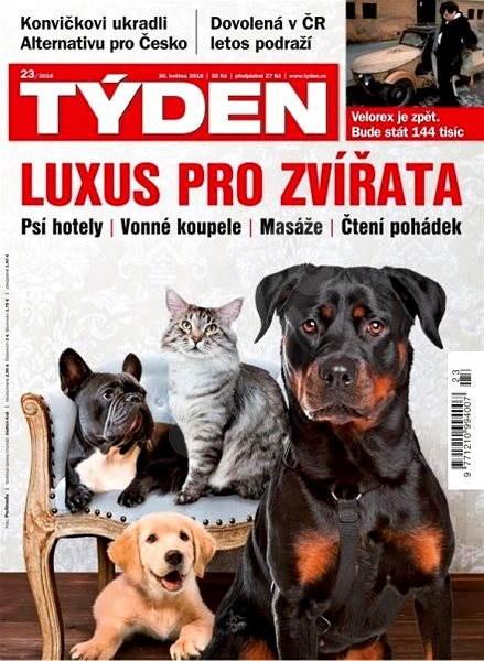 Týden - 23/2016 - Elektronický časopis