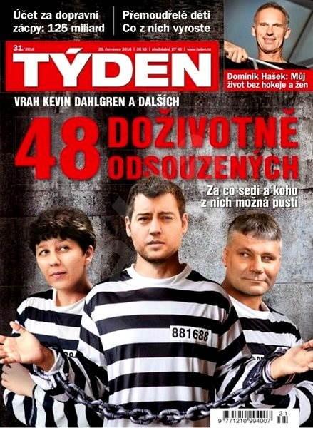 Týden - 31/2016 - Elektronický časopis