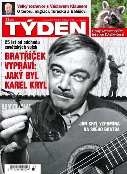 Týden - 33/2016 - Elektronický časopis