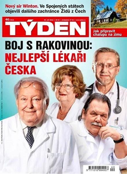 Týden - 40/2016 - Elektronický časopis