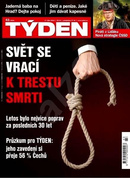 Týden - 43/2016 - Elektronický časopis