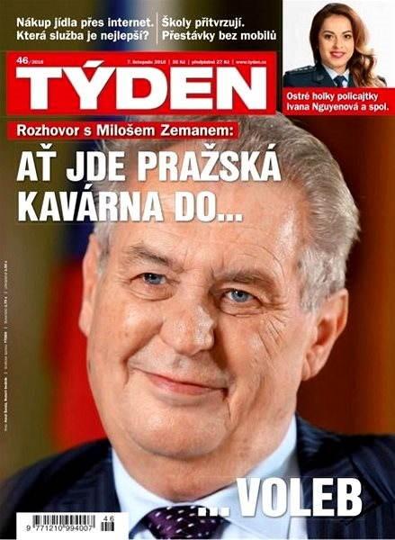 Týden - 46/2016 - Elektronický časopis