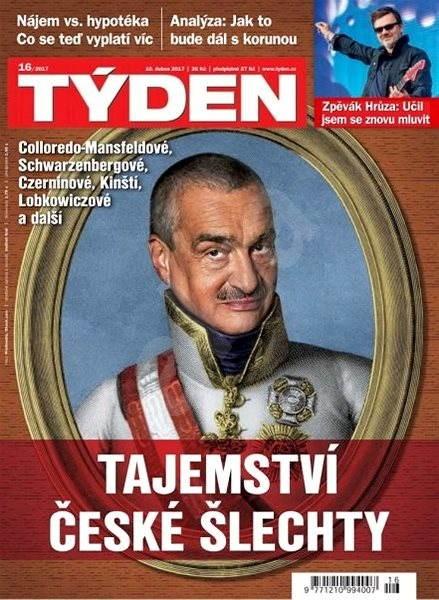 Týden - 16/2017 - Elektronický časopis