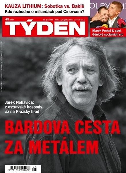 Týden - 45/2017 - Elektronický časopis
