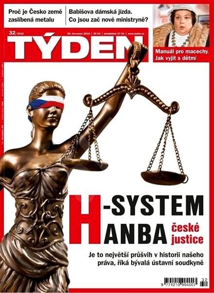 Týden - 32/2018 - Elektronický časopis