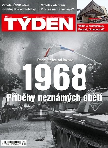 Týden - 35/2018 - Elektronický časopis