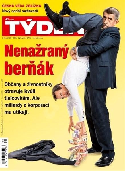 Týden - 41/2018 - Elektronický časopis