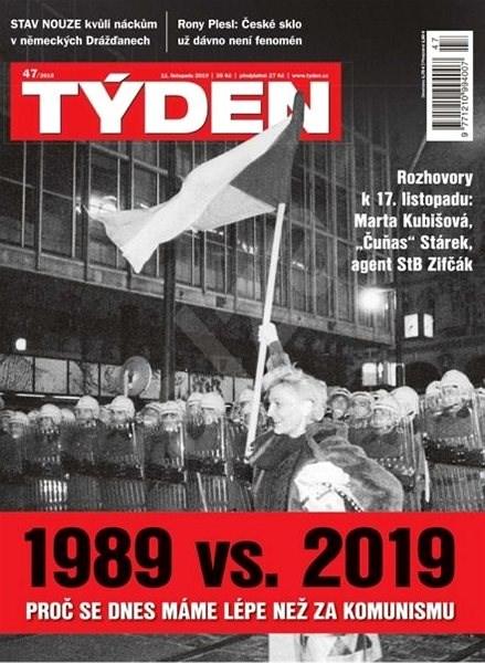Týden - 47/2019 - Elektronický časopis