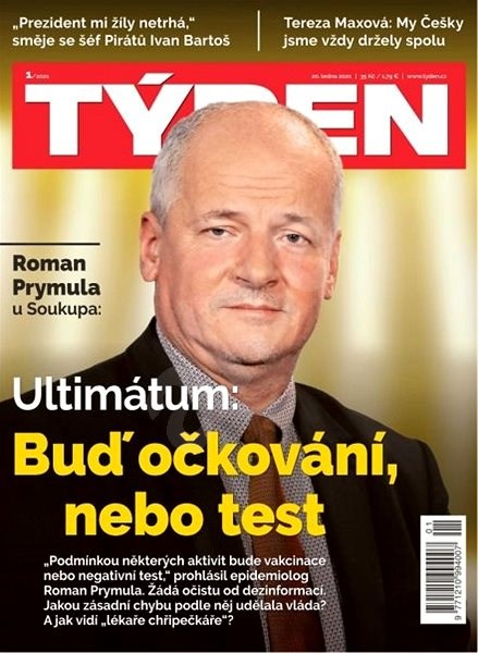 Týden - 1/2021 - Elektronický časopis
