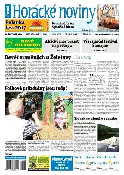 Horácké noviny - Úterý 25.7.2017 č. 055 - Elektronické noviny