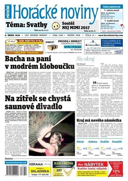 Horácké noviny - Pátek 9.2.2018 č. 011 - Elektronické noviny