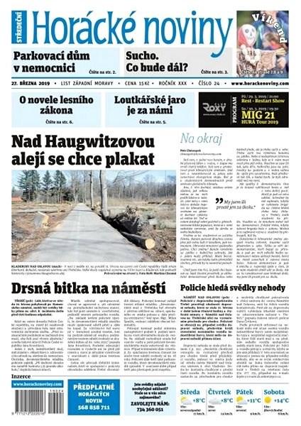 Horácké noviny - Středa 27.1.2019 č. 024 - Elektronické noviny