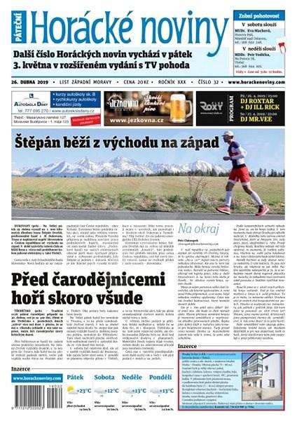 Horácké noviny - Pátek 26.4.2019 č. 032 - Elektronické noviny