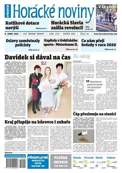 Horácké noviny - Středa 8.1.2020 č. 002 - Elektronické noviny
