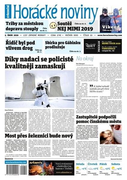 Horácké noviny - Středa 5.2.2020 č. 010 - Elektronické noviny