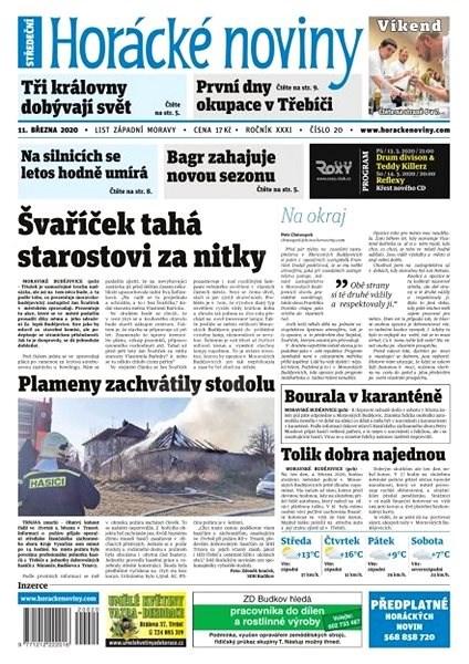 Horácké noviny - Středa 11.3.2020 č. 020 - Elektronické noviny